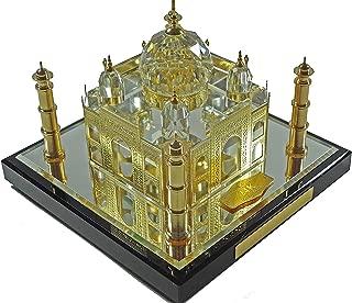 24k Gold Taj Mahal with Story Card, Taj Mahal Souvenir, Taj Mahal Model, Taj Mahal Replcia, Indian Gifts, Tag Mahal (10 cm)