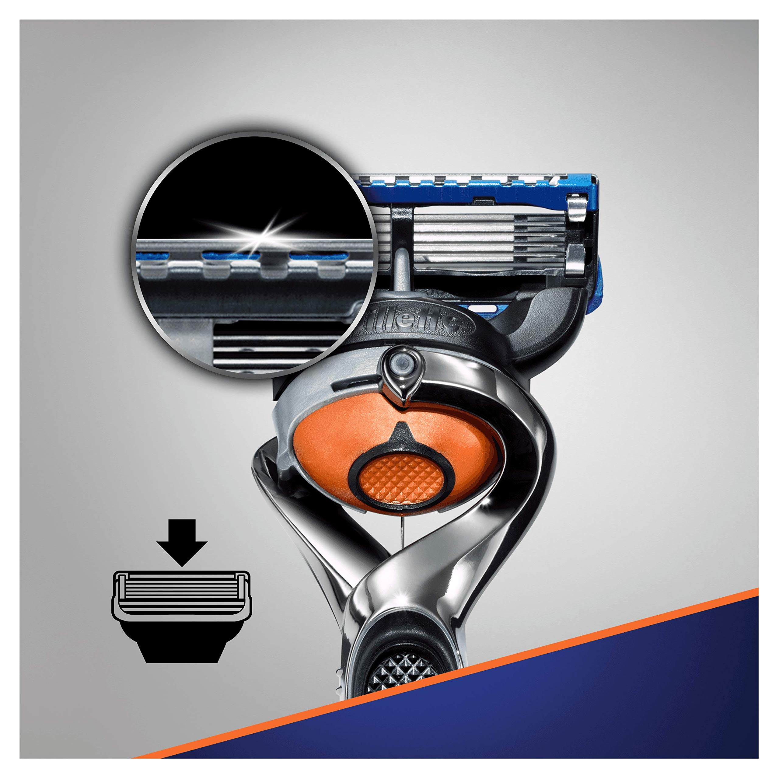 Gillette Fusion Manual Razor with FlexBall Technology