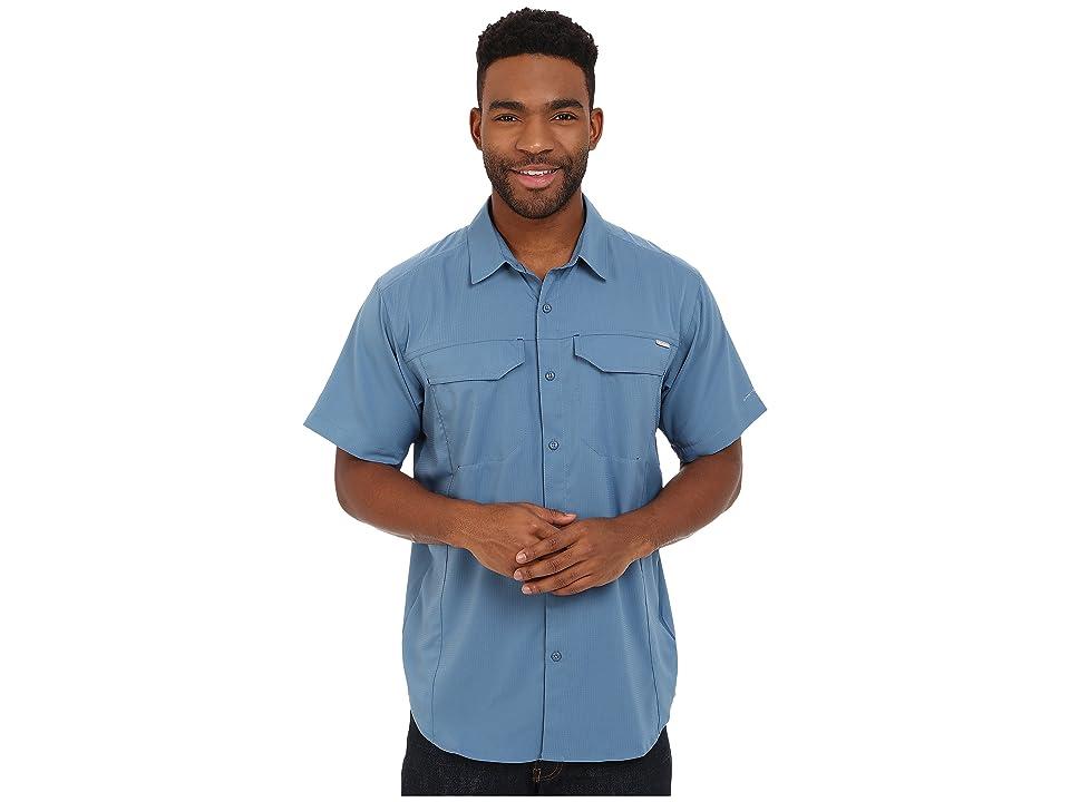 Columbia Silver Ridge Litetm Short Sleeve Shirt (Steel) Men