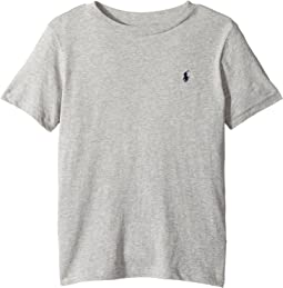 Polo Ralph Lauren Kids Cotton Jersey Crew Neck T-Shirt (Little Kids/Big Kids)