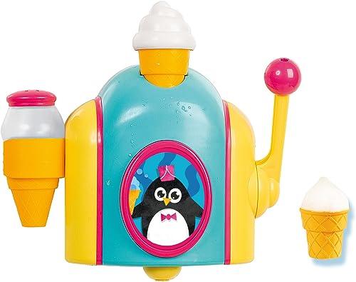 TOMY Bath Foam Cone Factory Toy