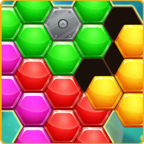 Hexa Block Puzzle  free puzzle games for kindle fire