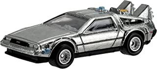 Hot Wheels Retro Entertainment Diecast Back To The Future Time Machine Vehicle