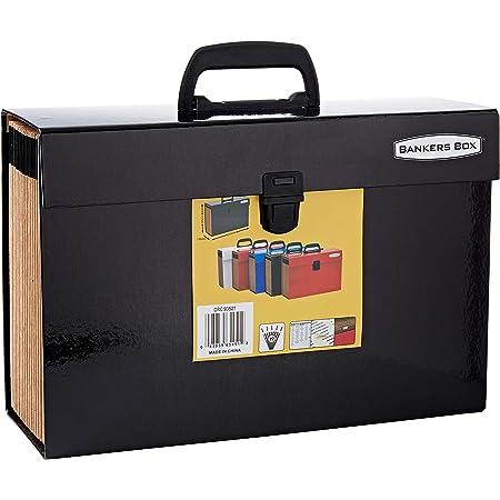 Fellowes 9352101 Trieur Accordéon Handifile Bankers Box - Noir