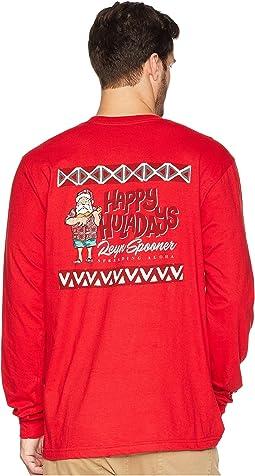 Ukulele Santa Long Sleeve T-Shirt