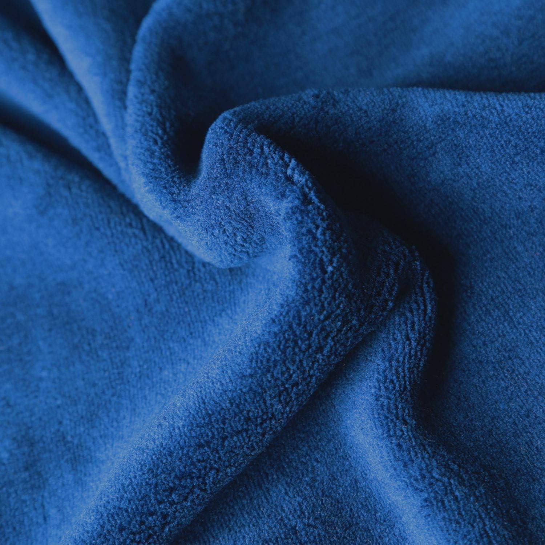 BEIJIREN Heated Throw Blanket-Electric Blanket Queen Fleece Fast Heating 4 Settings 10h Auto Off ETL Certified for Travel Home Office Outdoor 62/×84 Navy Blue