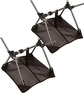 Zandafdekking, die draagbare campingstoelen tegen het zinken beschermt, geschikt voor de meeste compacte klapstoelen op de...