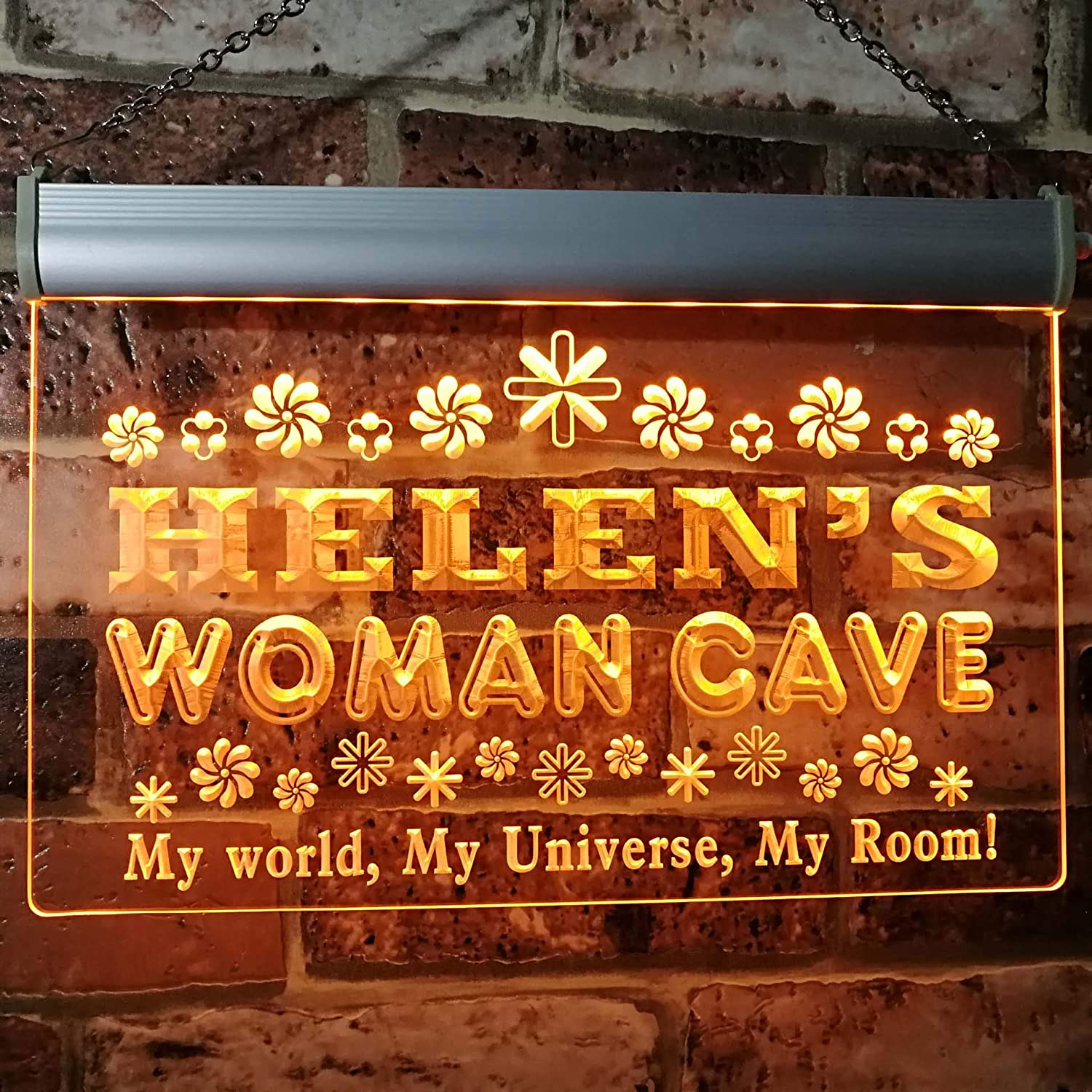 ADVPRO Helen's Woman Cave Room Neon Kansas City Mall Custom Sig Personalized Sales results No. 1 Name