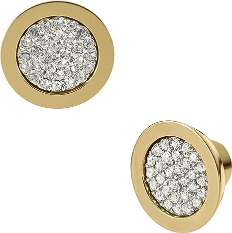 Michael Kors Women's Gold Stainless Steel Earring MKJ1965710