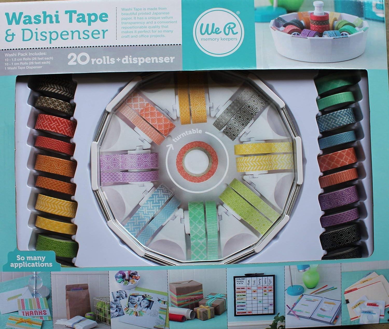 Washi Tape & Spender Memory Keepers B00GA8N9IG     | Deutschland