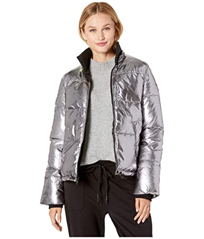 UGG Izzie Puffer Jacket Nylon (Silver Metallic) Women
