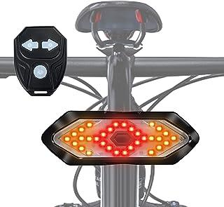 Bicygnals avant et arrière de vélo Lumières avec avant 9 Blanc DEL Arrière 6 DEL Rouge/'