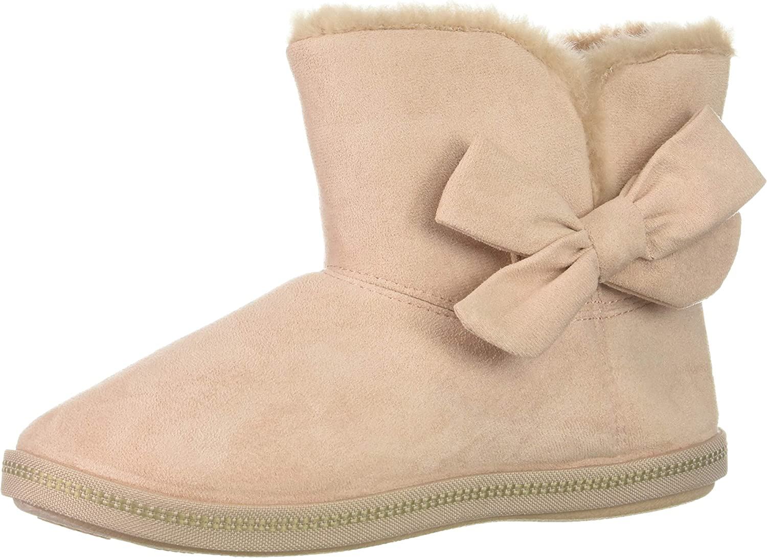 Limited Special Price Skechers Women's Cozy Campfire-Microfiber Boot Bow Slipper New mail order with