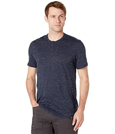Smartwool Everyday Exploration Short Sleeve Henley (Deep Navy Heather) Men