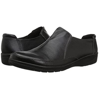 Clarks Cheyn Bow (Black Leather) Women