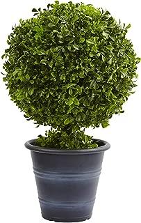 "Nearly Natural 4560 23"" Boxwood Ball Topiary"