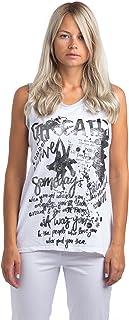 Abbino Shirts Tops Women–Made in Italy–1Colour–Transition Spring Summer Autumn Casual Sexy Casual Leisure Elegant Sleeveless Women's Shirt Women's Top Albatross Shirts 8ml Sale