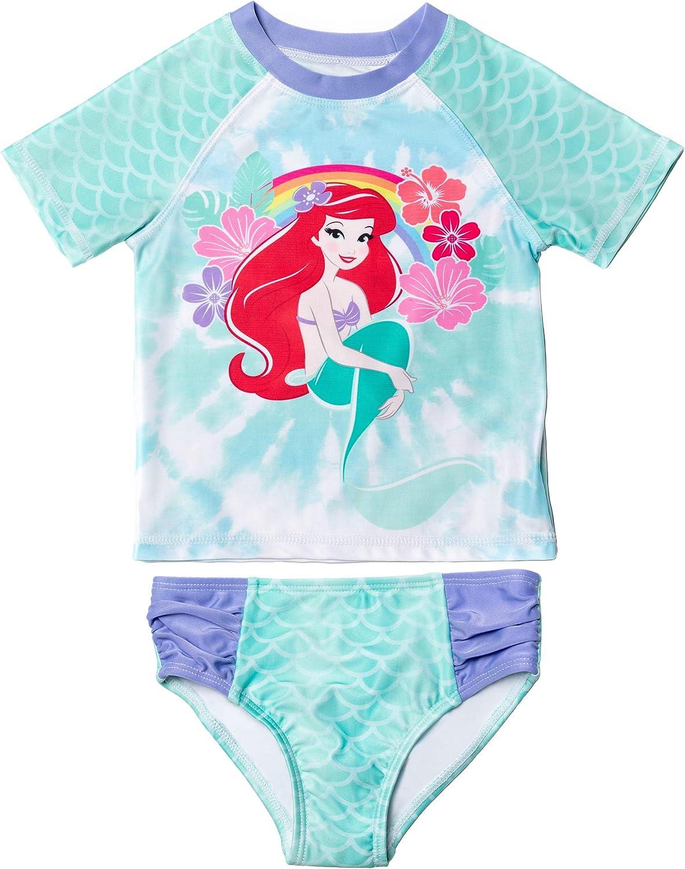 Disney Little Ranking TOP4 Mermaid Princess Our shop OFFers the best service Ariel Guard Rash Girls Sw Toddler