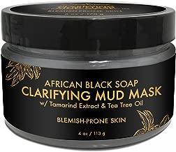 SheaMoisture African Black Soap Problem Skin Facial Mask, 4 Ounce
