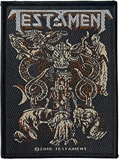 Testament Demonarchy Unisex Patch standard, 100% polyester,