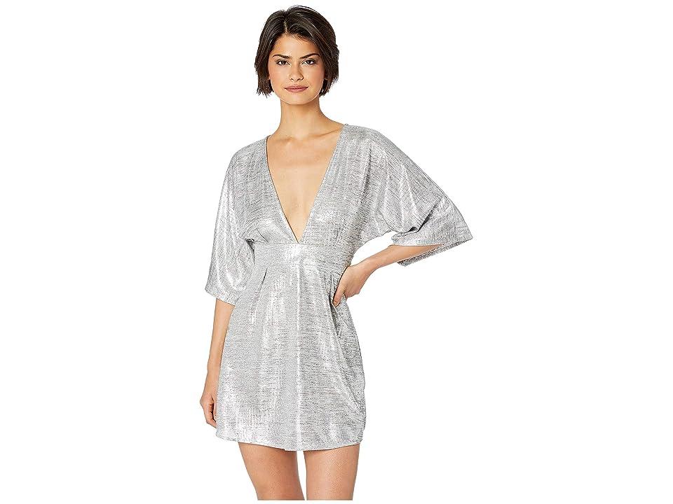 Lucy Love Light Lounge Dress (Silver) Women