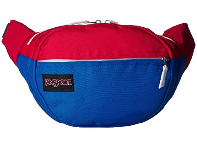 JanSport Fifth Avenue Pack (Red/White/Blue) Backpack Bags