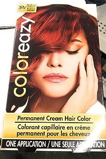Color Eazy Permanent Cream Hair Color - Medium Auburn