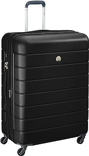 Delsey Paris 00387082100H9 Children's Hardside Luggage, Black, 76 Centimeters
