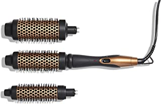 Amika Blowout Babe Interchangeable Thermal Brush, Black