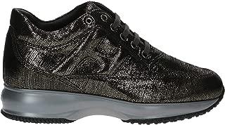 HOGAN Luxury Fashion Womens HXW00N00010SHMB401 Grey Sneakers | Fall Winter 19
