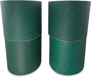 6 X 48 Inch Metal Grinding Zirconia Sanding Belts 40, 60, 80, 120 Grits, 4 Pack Assortment