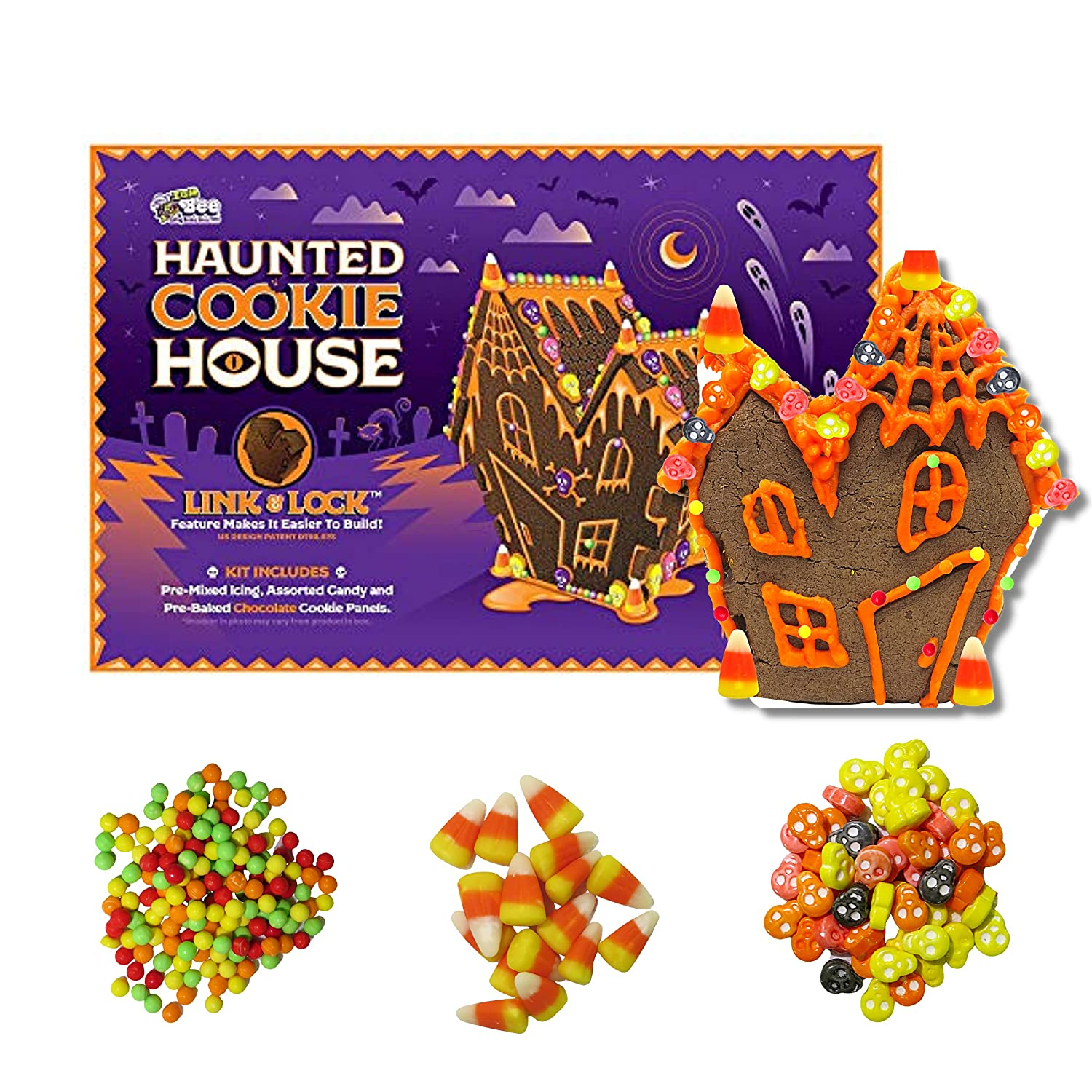 Halloween Bee We OFFer at cheap prices Gingerbread Haunted Cookie House Sale special price 28 - Bo Kit Ounce