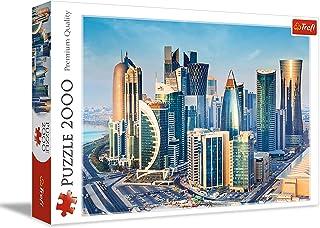 Trefl Doha In Qatar Puzzle For Unisex- 2000 Pieces