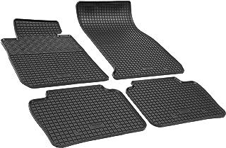 Premium Doppelziernaht Fußmatten für BMW 4er Coupé F32 ab Bj 2013