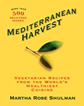 Mediterranean Harvest: Vegetarian Recipes from the World's Healthiest Cuisine: A Cookbook