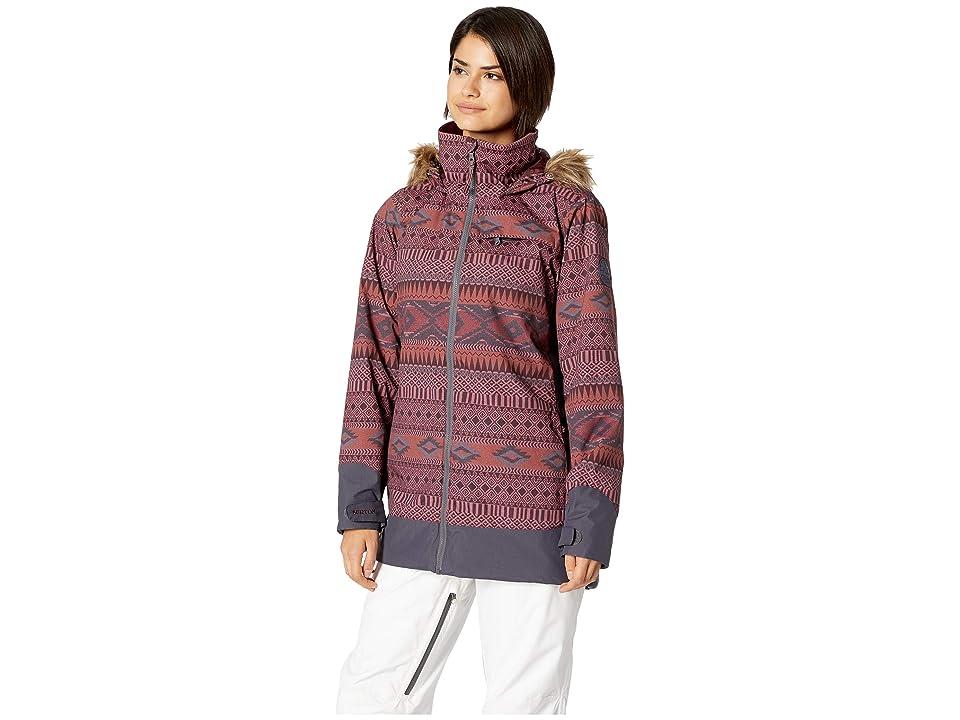 Burton Lelah Jacket (Port Royal Freya Weave/Trocadero) Women