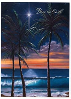 Peaceful Earth Hawaiian Christmas Cards / Box of 12 Cards