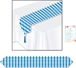 Three Paper Printed Oktoberfest Bavarian Table Runners (with Party Planning Checklist)