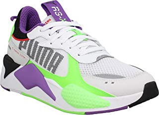PUMA Womens RS-X Bold Trainers Sneakers in White/GR Gecko/Royal Lilac
