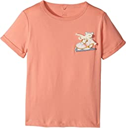 Stella McCartney Kids - Lolly Short Sleeve Tee with Skate Applique (Toddler/Little Kids/Big Kids)