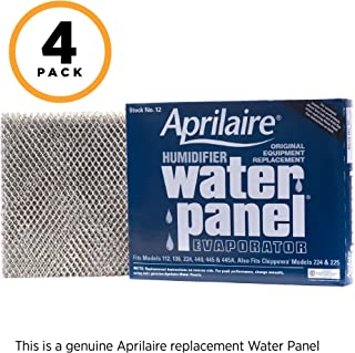 Aprilaire 12 Replacement Water Panel for Aprilaire Whole House Humidifier Models 112, 224, 225, 440, 445, 448 (Pack of 4)