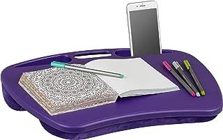 LapGear MyDesk Lap Desk - Purple - Fits up to 15.6 Inch laptops - Style No. 45342