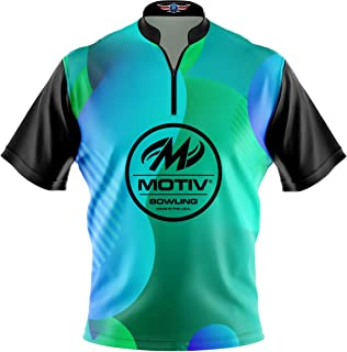 Logo Infusion Bowling Dye-Sublimated Jersey (Sash Collar) - Motiv Style 0510 - Sizes S-4XL