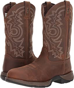 "Durango Rebel 12"" Western WP Steel Round Toe"