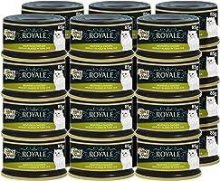 طعام القطط الرطب الفاخر بورينا بمزيج من الاطعمة البحرية والدجاج من فانسي فيست 85 غرام (24 علبة)