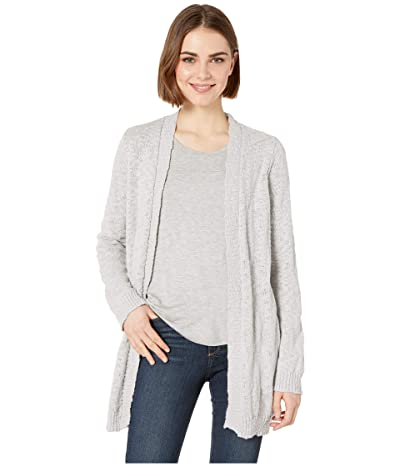 Jack by BB Dakota Party In The Back Cardigan (Stone Grey) Women