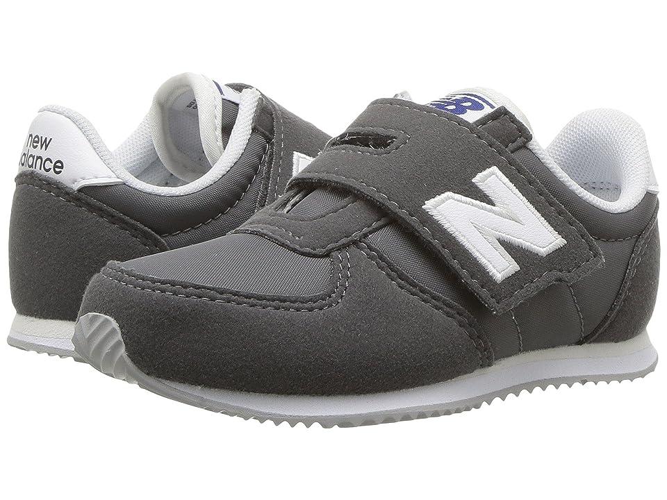 New Balance Kids KV220v1 (Infant/Toddler) (Grey/White) Boys Shoes