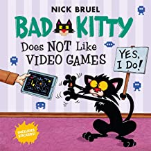 Bad Kitty Does Not Like Video Games: Includes Stickers