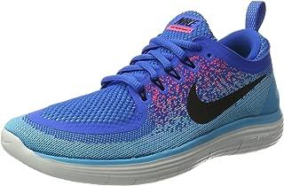 Nike Free RN Distance 2 Shoes Men's Running Sneakers Soar Black-Hot Punch