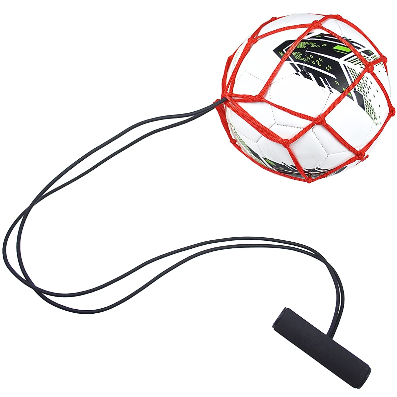 AGORA Soccer Ball Bungee Elastic Training Juggling Net
